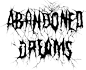 Bandlogo von Abandoned Dreams