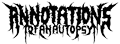 Bandlogo von Annotations Of An Autopsy
